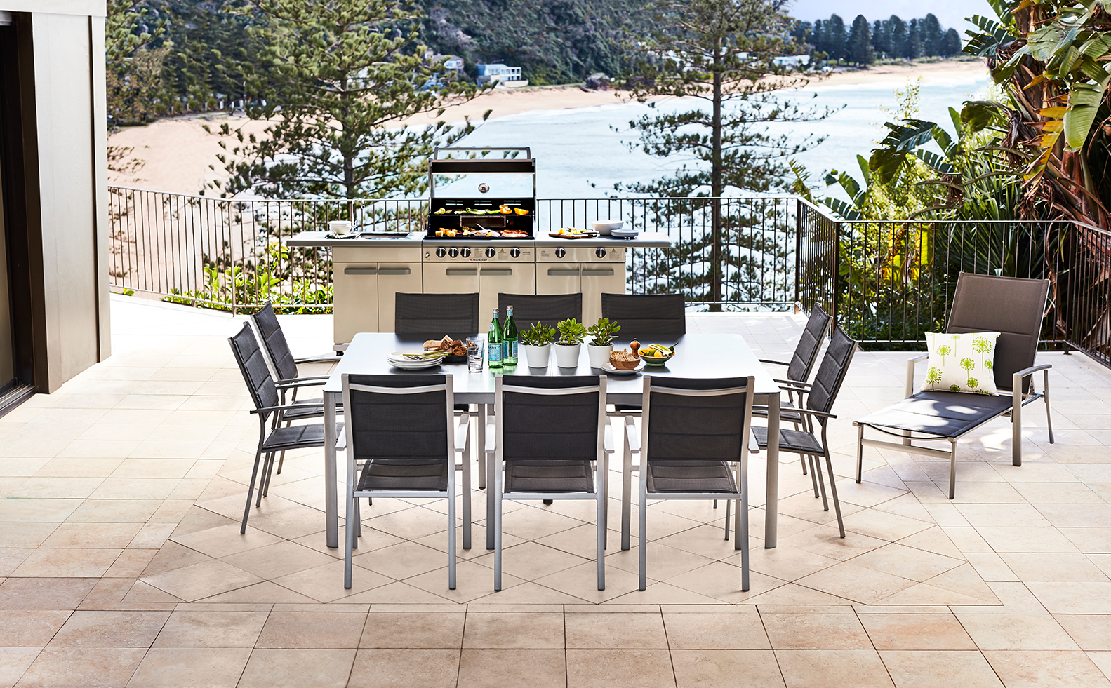 Classic charm keep it simple and refined with timeless modular outdoor furniture
