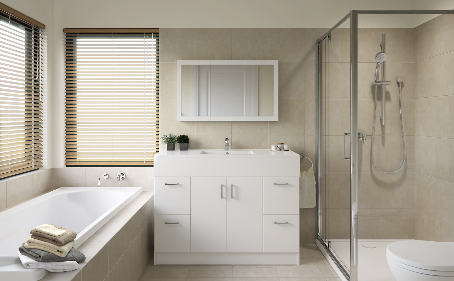 bathroom inspiration gallery bunnings warehouse - Bathroom Inspiration