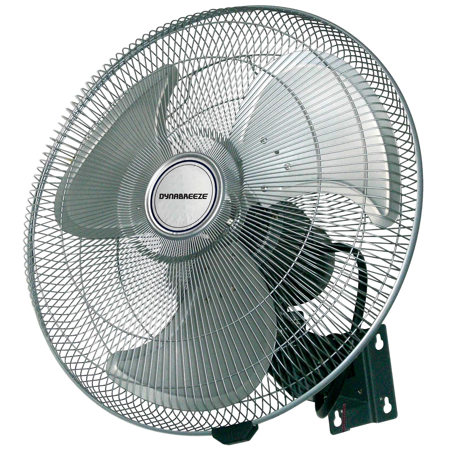 Wall Fan Industrial : Dynabreeze industrial wall fan cm blades w motor