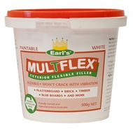 Timbermate 500g Earl's MulTflex White Exterior Flexible Filler