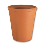 Vaseria 28cm Long Tom Terracotta Italian Pot
