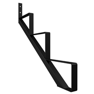 Peak 3 Tread Steel Stair Stringer