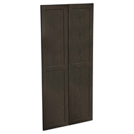 Kaboodle 900mm Copresso Alpine Pantry Doors - 2 Pack