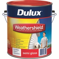 Dulux Weathershield 2L Semi Gloss Vivid White Exterior Paint