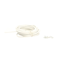 Windoware 5m Hooks And Eyes Expanding Curtain Wire Kit