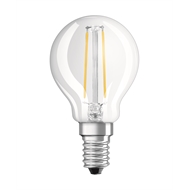 Osram 5W 470lm Warm White Fancy Dimmable Filament LED ES Globe