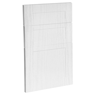 Kaboodle 450mm Provincial White Alpine 3 Drawer Panels