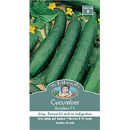 Mr Fothergill's Burpless Cucumber Vegetable Seed