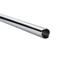 Sandleford 25 x 1200mm Chrome Tube Rod