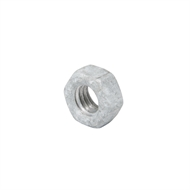 Zenith M6 Hot Dipped Galvanised Hexagon Nuts - Box of 50