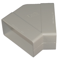 Icon Plastics 100 x 50mm Surf Mist 45 Deg PVC Elbow