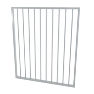 Protector Aluminium 975 x 1200mm Flat Top Ulti-M8 Pool Gate - Surfmist