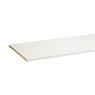 1800 x 445mm 16mm ABS Pre Drilled Melamine Shelving