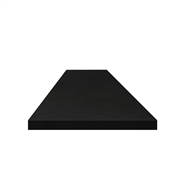 Litestone 3000 x 800 x 40mm Pure Black Benchtop