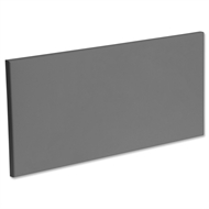 Kaboodle 600mm Smoked Grey Modern 1 Drawer Panel