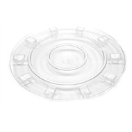 Whites 20cm Clear Plastic Floor Protect Pot Trivet
