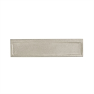 Decor8 300 x 75mm Light Grey Goffy Ceramic Wall Tiles - 22 Pack