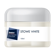 Dulux 100ml Stowe White Sample Pot