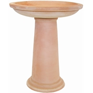 Northcote Pottery 47 x 57cm Terracotta Cottaseal Bird Bath