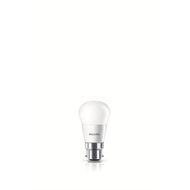 Philips 5.5W 470lm 2700K Fancy Round LED BC Globe - 2 Pack