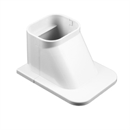 Stahl 100mm Air Conditioning Conduit Ceiling Cap