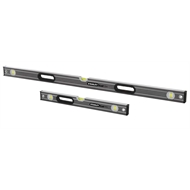 Stanley FatMax 2m And 600mm Spirit Level Combo