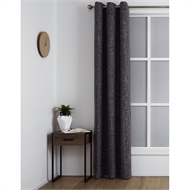 Windoware 1200 x 2230mm Maine Room Darkening Eyelet Curtain - Maine Pepper