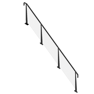 Weldlok Mono String 11 Tread Single Side Balustrade Kit