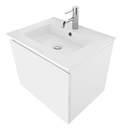 Cibo Design 600mm White Revive Vanity