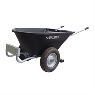 Sherlock 120L Two-Wheel Poly Cart