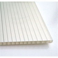 Suntuf Sunlite 10mm x 1.0m Solar Ice Twinwall Polycarbonate Roofing
