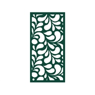 Protector Aluminium 600 x 900mm Profile 17 Decorative Panel Unframed - Dark Green