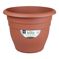 Northcote Pottery 600mm Terracotta Villa Round Plastic Pot