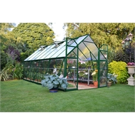 Maze 8 x 16ft Greenhouse with Green Frame