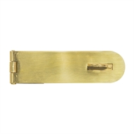 Pinnacle 100mm Brass Safe Pattern Hasp And Staple