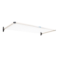 Daytek Single Fold Down Clothesline - Bark