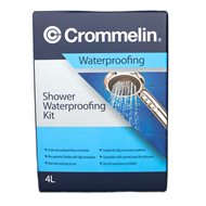 Crommelin 4L Shower Waterproofing Kit