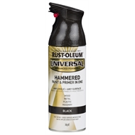 Rust-Oleum 340g Black Universal Hammered Paint