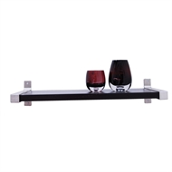 Flexi Storage 900mm Black Style Shelf