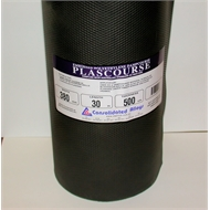 Consolidated Alloys 380mm x 30m x 500um Black Poly Dampcourse Plascourse