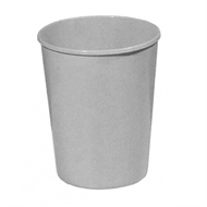 Icon Plastics Grey Waste Paper Bin