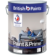 British Paints 10L White Interior Low Sheen Paint & Prime