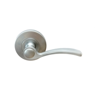 Lemaar Satin Chrome Vigo Passage Lever Set
