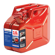 Sandleford 10L Red Metal Fuel Can