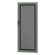 Protector Aluminium 808-848 x 2030-2070mm Adjustable Perforated Security Door - Wilderness