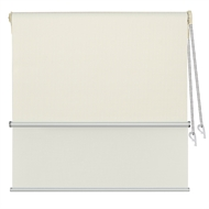 Markisol 120 x 240cm Hilton Indoor Day and Night Roller Blind - Ivory