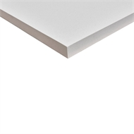 Litestone 2400 x 800 x 40mm White Benchtop