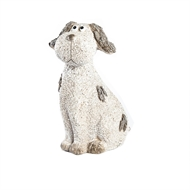 Tuscan Path Resin Provincial Dog Garden Statue