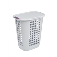 Ezy Storage 63L Encore Laundry Hamper With Lid