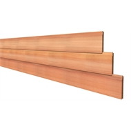 181 x 18mm Shiplap Tonge And Groove Cedar Cladding - Per Linear Metre